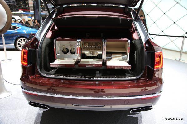 Bentley Bentayga Hybrid Kofferraum