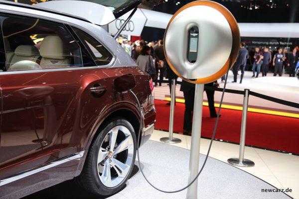 Bentley Bentayga Hybrid Pluginanschluss