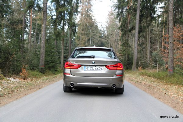 BMW 520d xDrive Touring Heck