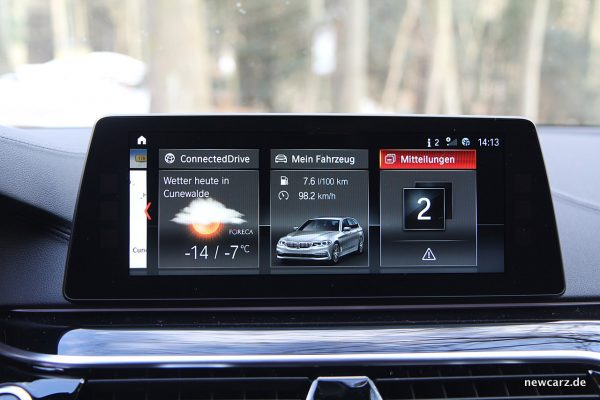 BMW 520d xDrive Touring Touchscreen