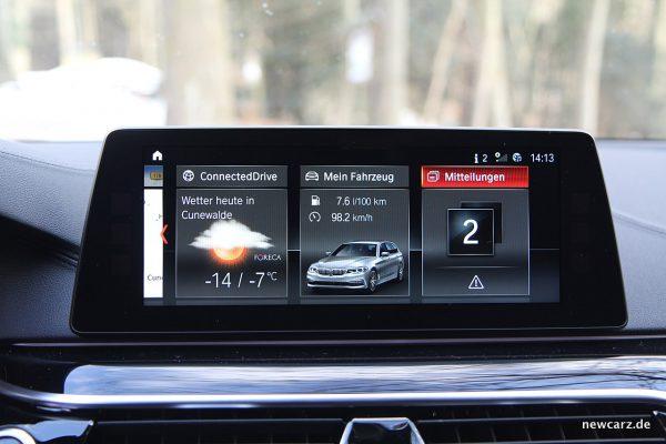 BMW 520d xDrive Touring Touchscreen