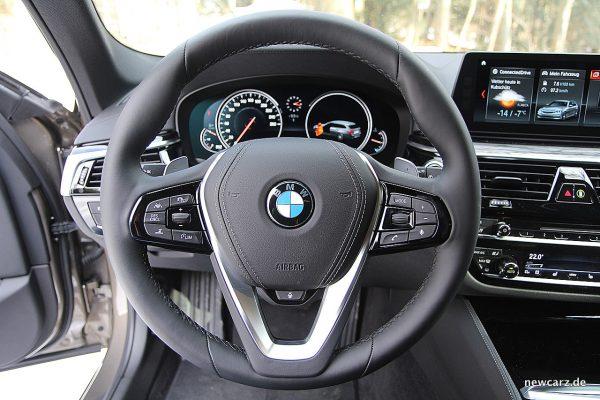 BMW 520d xDrive Touring Lenkrad