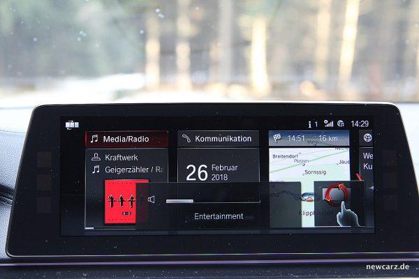 BMW 520d xDrive Touring Gestensteuerung
