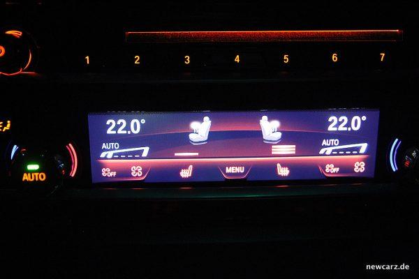 BMW 520d xDrive Touring Sitzheizung