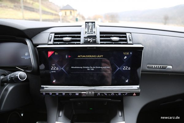 DS7 Crossback Touchscreen