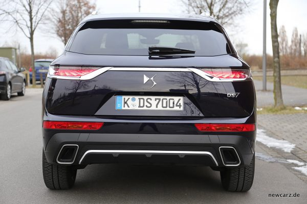 DS7 Crossback Heck