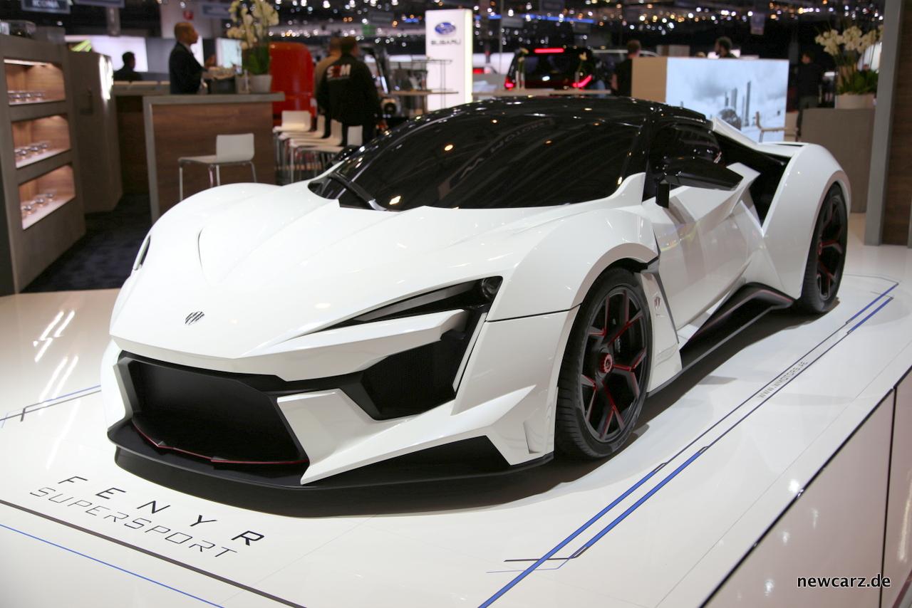 Fenyr Supersport Extravaganz Auf Dem Genfer Autosalon