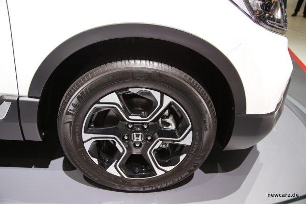 Honda CR-V Hybrid Radlauf