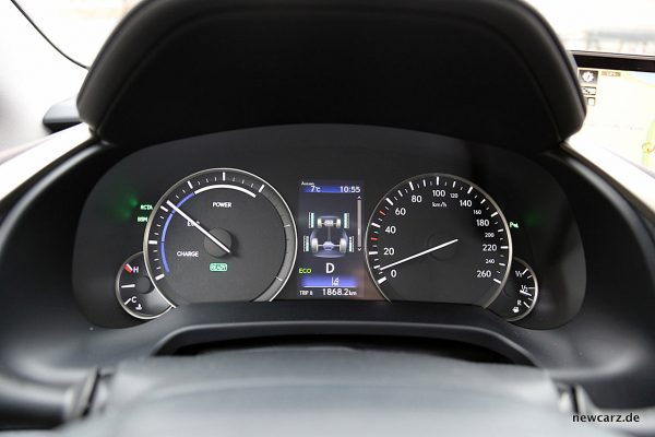 Lexus RX 450h Kombiinstrument