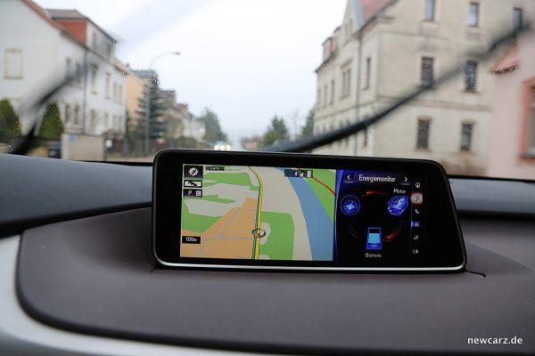 Lexus RX 450h Touchscreen