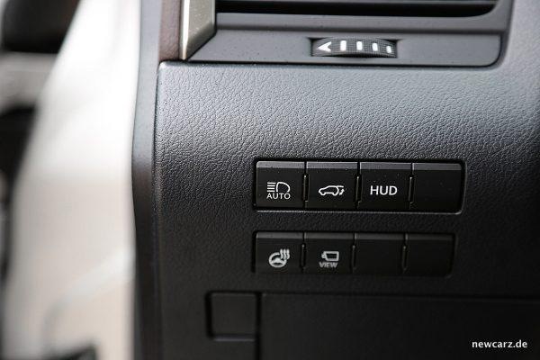 Lexus RX 450h Assistenzschalter