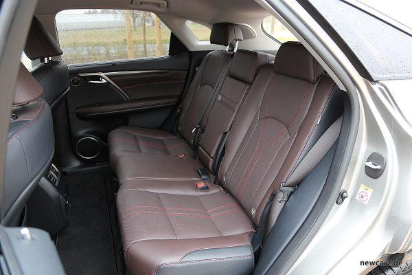 Lexus RX 450h Rücksitzbank