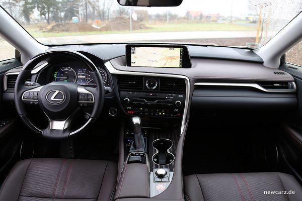 Lexus RX 450h Armaturenbereich