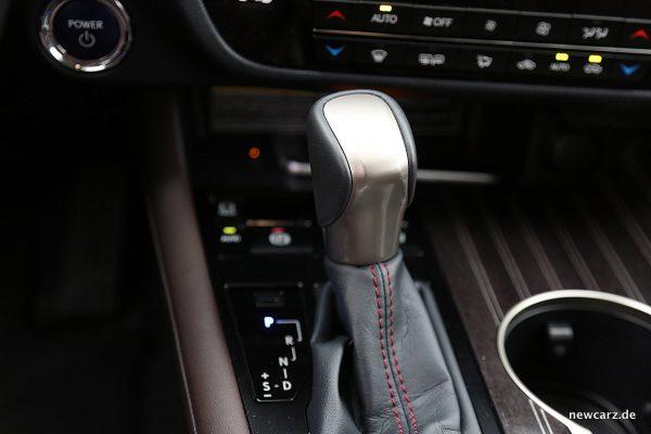 Lexus RX 450h Wahlhebel