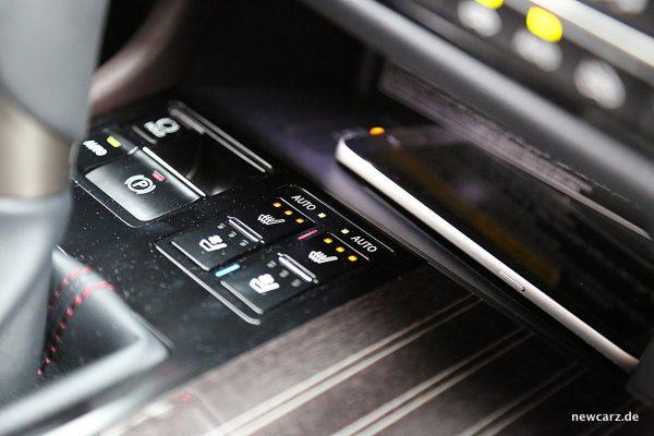 Lexus RX 450h Sitzheizung
