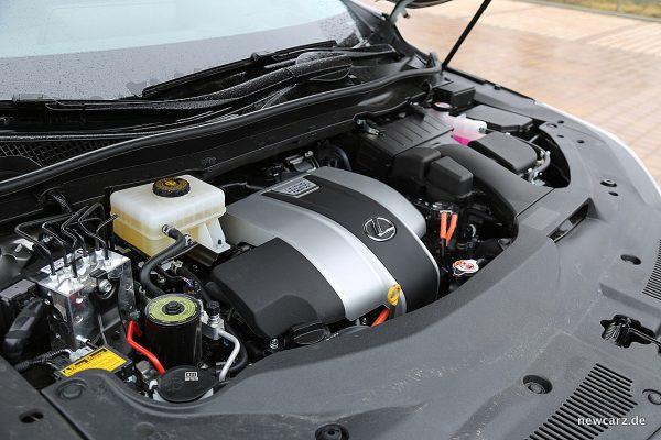 Lexus RX 450h Motorraum
