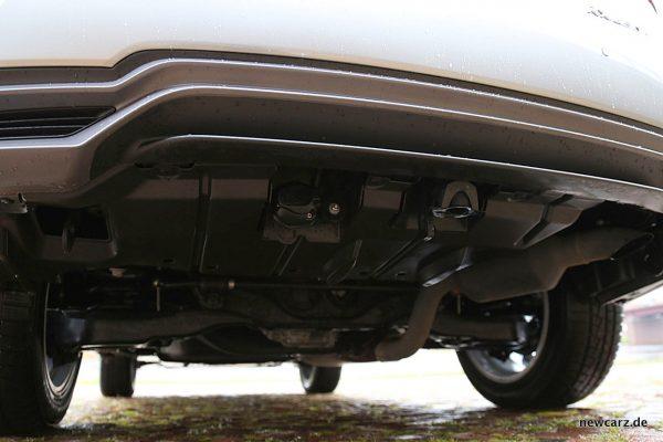 Lexus RX 450h Abgasanlage