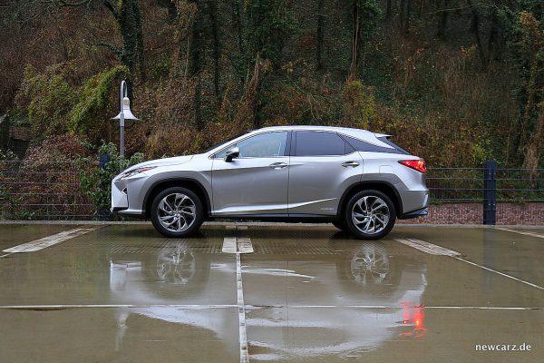 Lexus RX 450h Seitenansicht