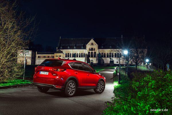 Mazda CX-5 schräg hinten