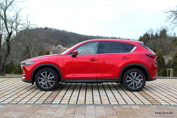 Mazda CX-5 Seitenlinie