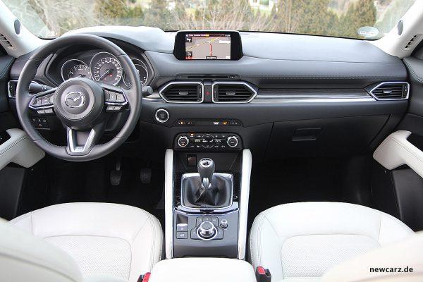 Mazda CX-5 Armaturentafel
