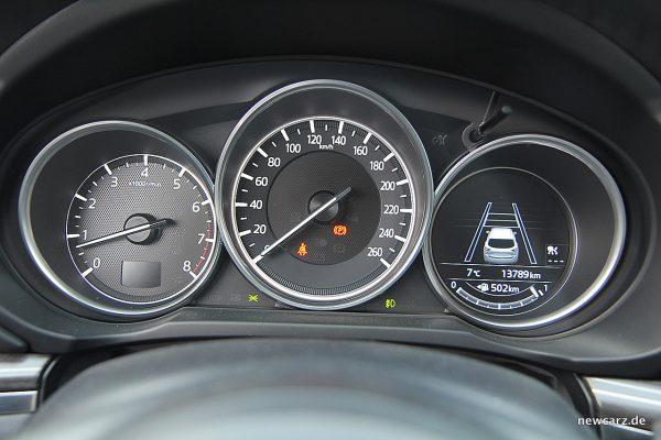 Mazda CX-5 Kombiinstrument