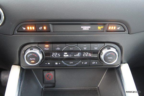 Mazda CX-5 Sitzheizung
