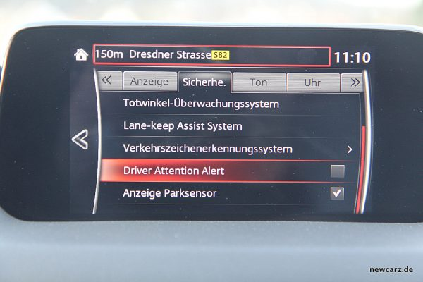 Mazda CX-5 Müdigkeitsassistent