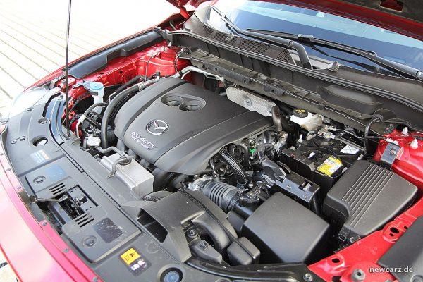 Mazda CX-5 Motorraum