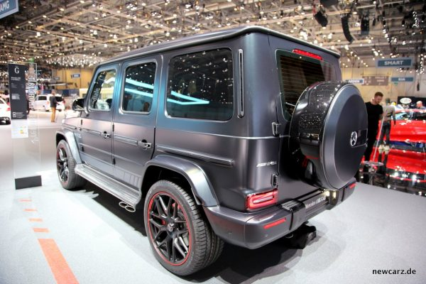 Mercedes-AMG G 63 Edition 1 Heck