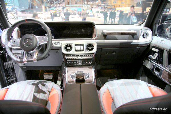 Mercedes-AMG G 63 Edition 1 Interieur
