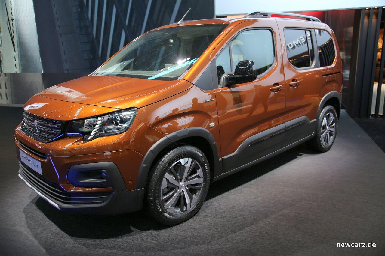 Peugeot Rifter Exterieur