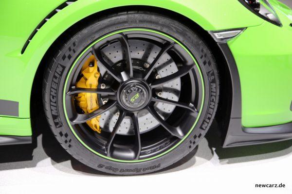 Porsche 911 GT3 RS Bremsen