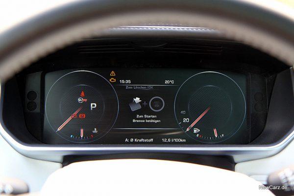 Range Rover Sport SVR Verbrauch