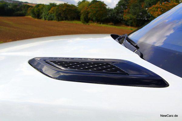 Range Rover Sport SVR Motorhaube