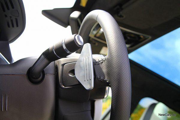 Range Rover Sport SVR Schaltwippen