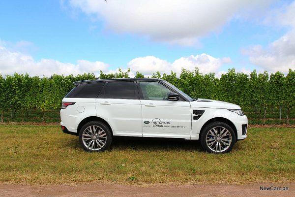 Range Rover Sport SVR Seitenansicht