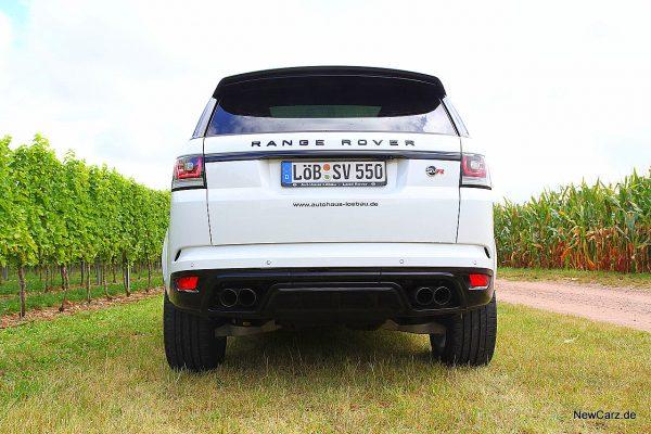 Range Rover Sport SVR Heck