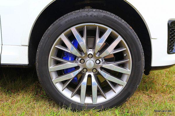 Range Rover Sport SVR Rad