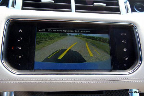 Range Rover Sport SVR Rückfahrkamera