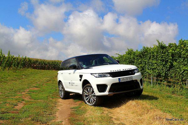 Range Rover Sport SVR Offroad