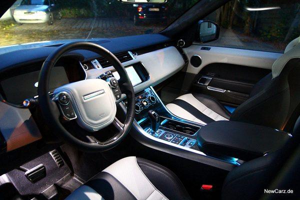 Range Rover Sport SVR Ambientelicht