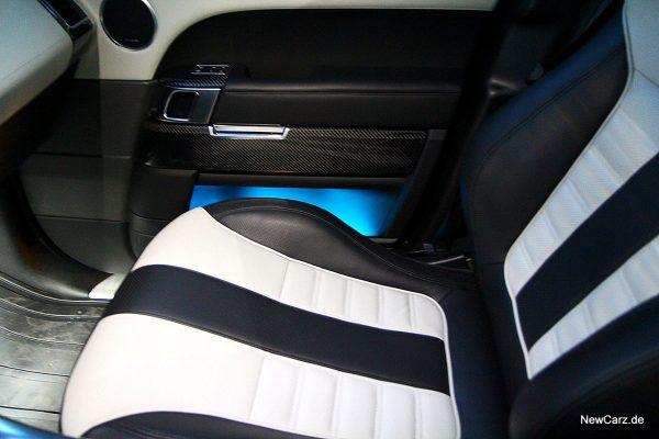 Range Rover Sport SVR Recaro