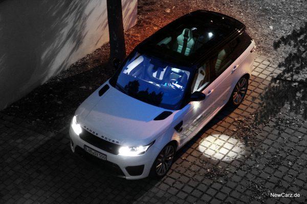 Range Rover Sport SVR schräg oben