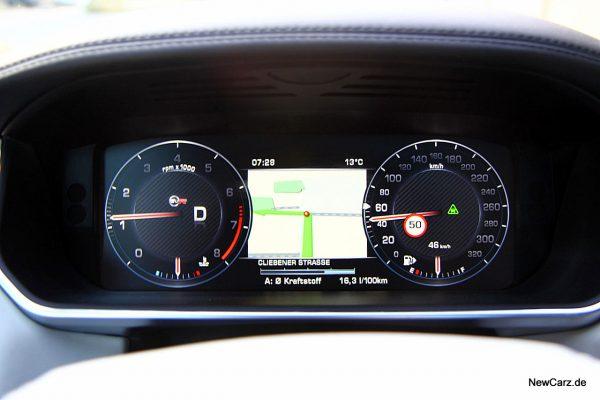 Range Rover Sport SVR Kombiinsrument