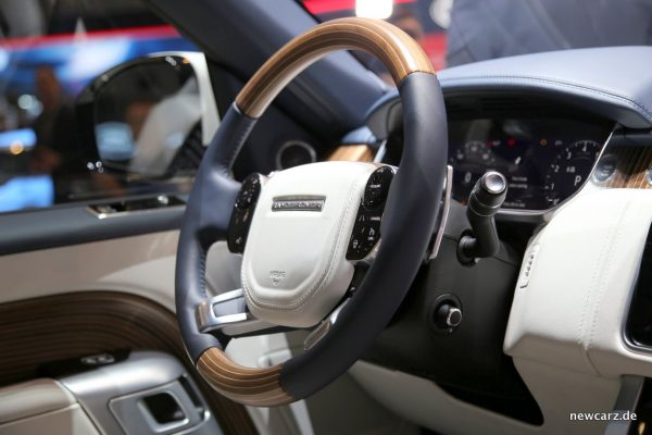 Range Rover SV Coupé Lenkrad