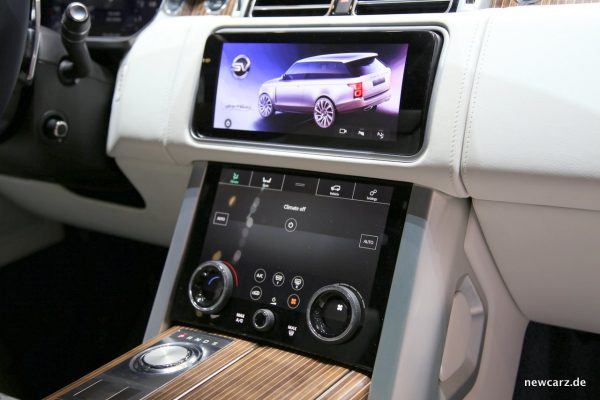 Range Rover SV Coupé Interieur
