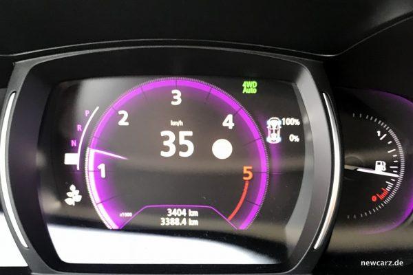 Renault Koleos Dauertest Tachostand 3400