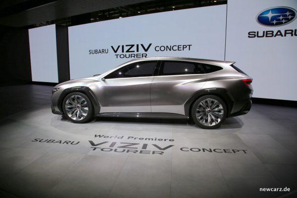 Subaru VIZIV Tourer Concept Seitenlinie