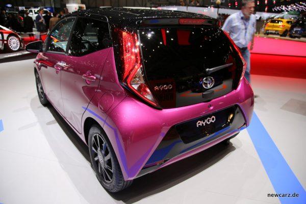 Toyota Aygo x-cite Exterieur